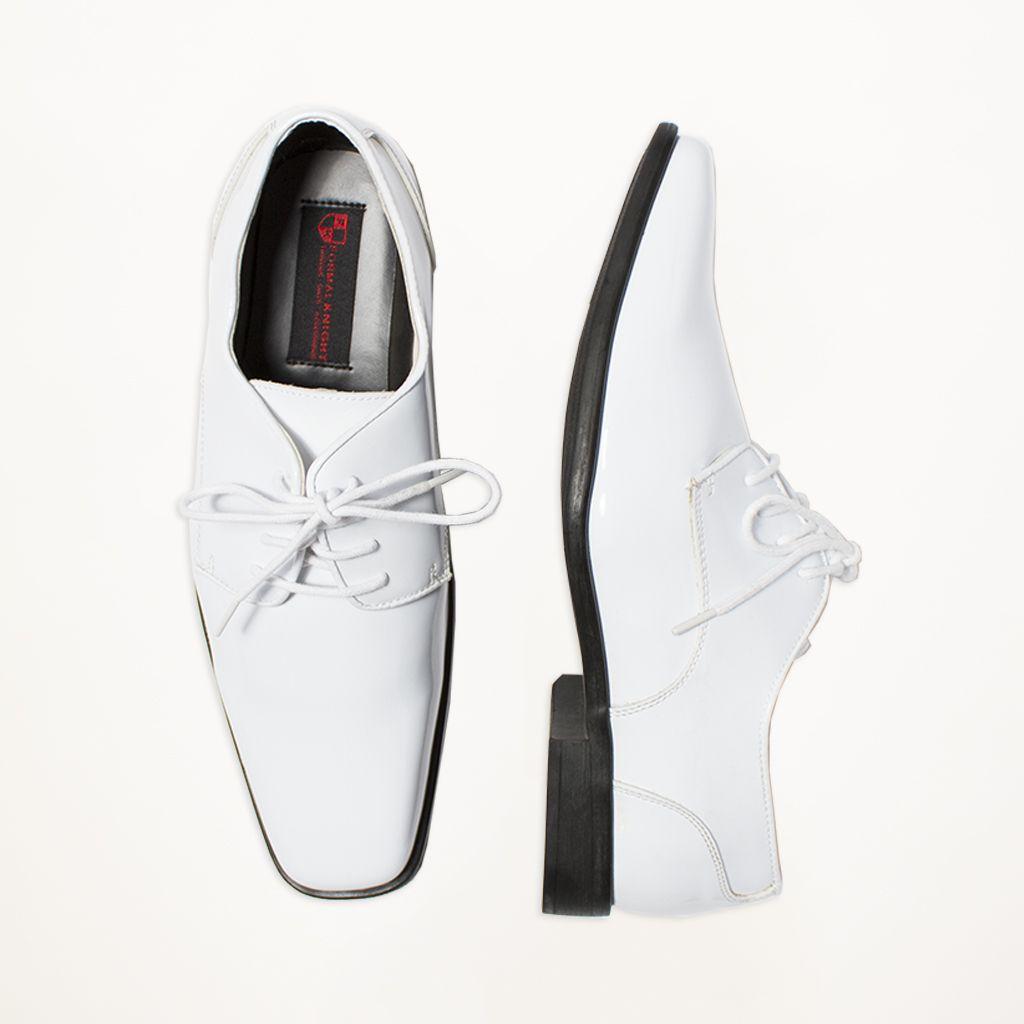 White Tuxedo Shoe