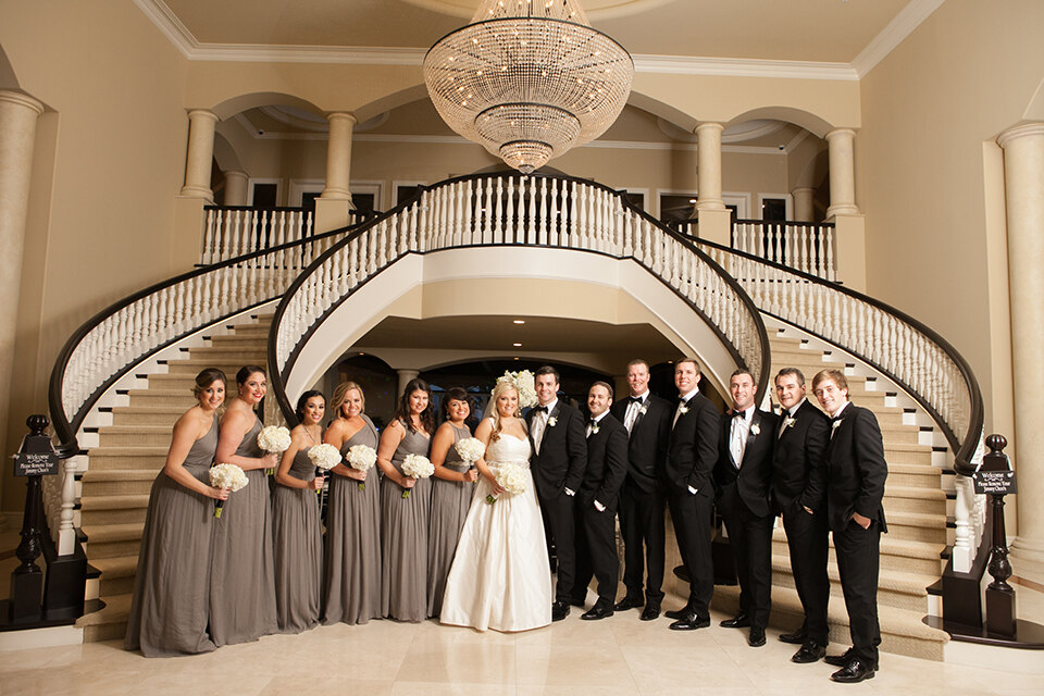 Glamorous Gray Wedding In San Clemente