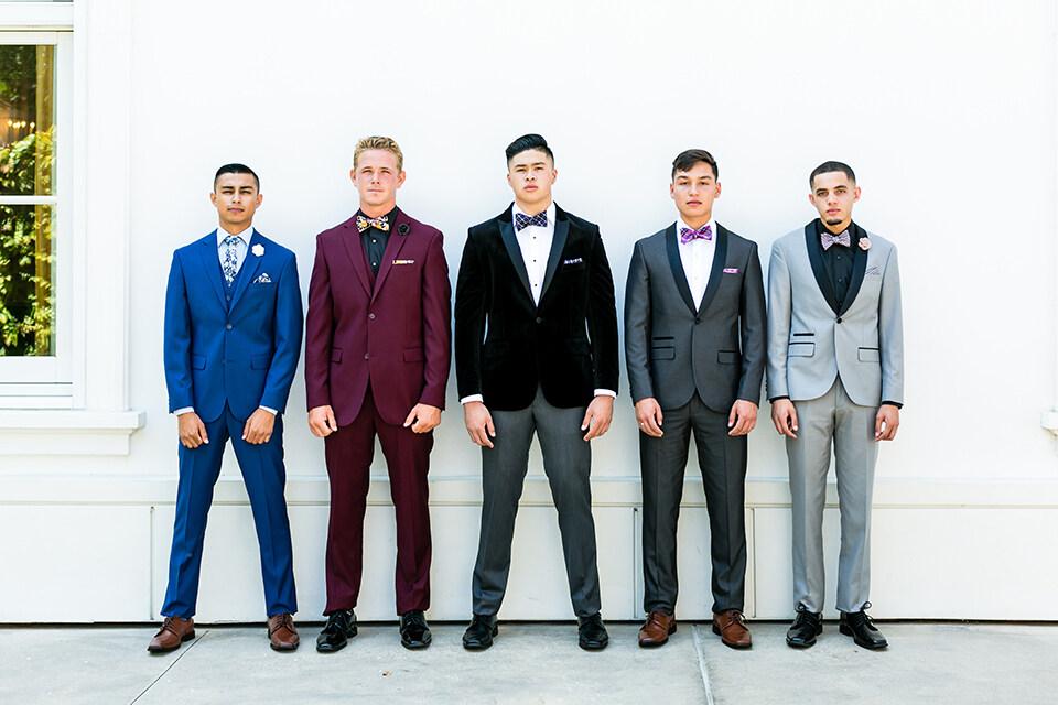 Prom 2018 Suit & Tuxedo Trends