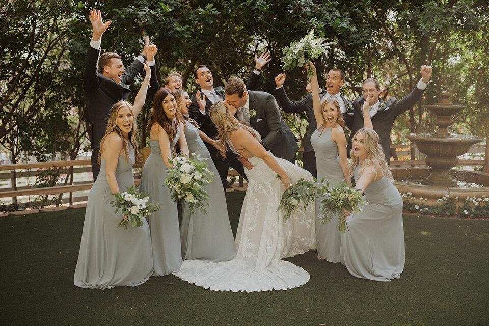 A Chic Mostly White Wedding Design Friar Tux Blog,Bride Plus Size Black Wedding Dresses